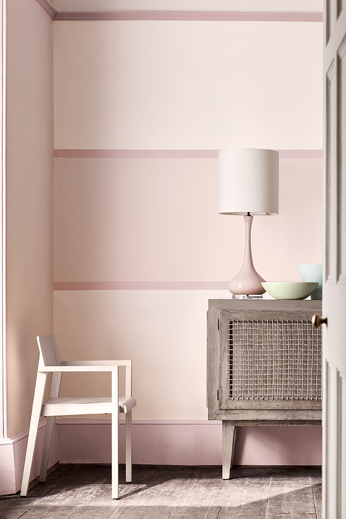 Dorchester Pink_Stripe Room