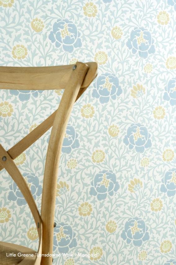Lansdowne Walk - Marigold Detail